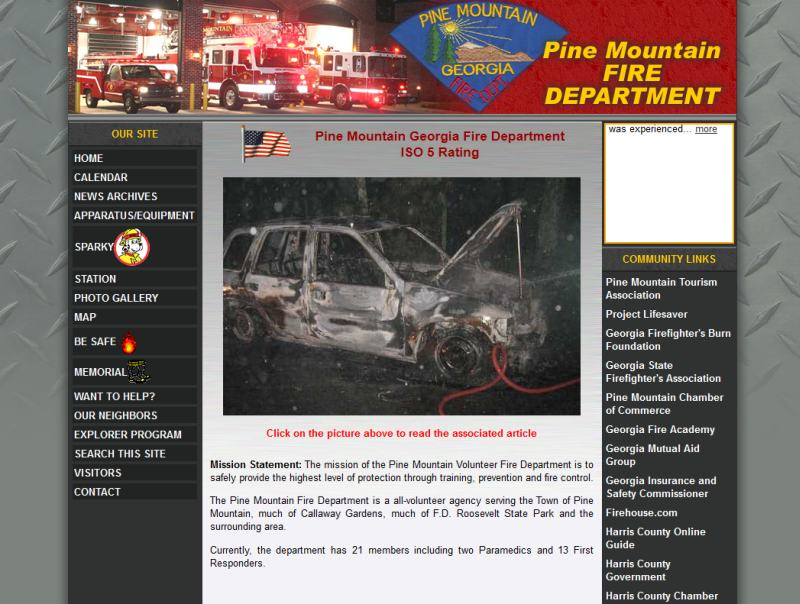 Pine Mountain Fire Department