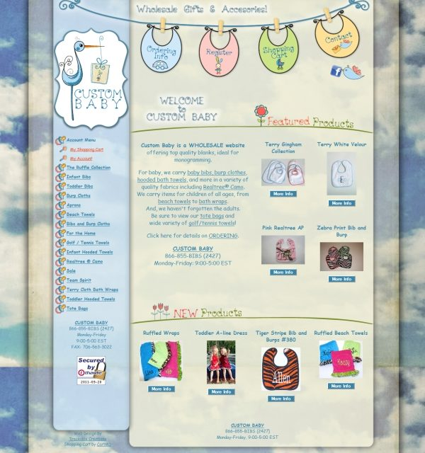 Custom Baby – Wholesale Baby Products