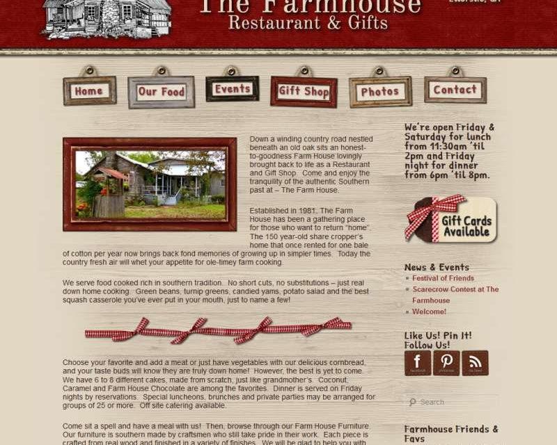 The Farmhouse Restaurant, Ellerslie, GA