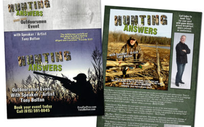 Tony Bolton – Brochure