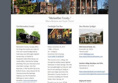 Meriwether County Chamber of Commerce